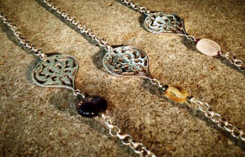 Nadia dajani arabic calligraphy jewelry Calligraphy jewelry